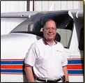 Cessna 210 T210 P210 Trainer Chuck McGill, 2009 CFI of the Year